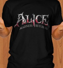 Alice Madness Returns Game Black T-Shirt