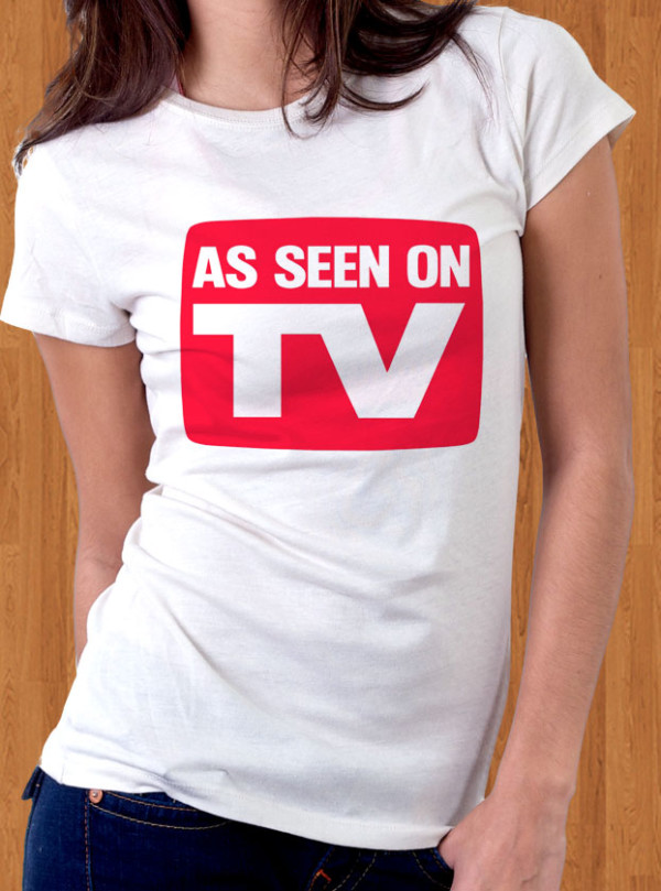 As Seen On TV T-Shirt Women