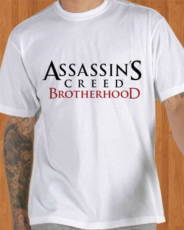 Assassins Creed T-Shirt Brotherhood