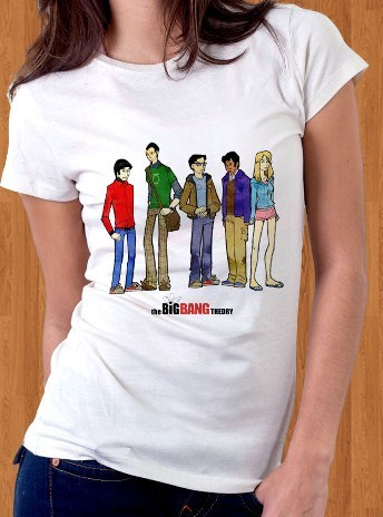 Big Bang Theory T-Shirt 02 Women