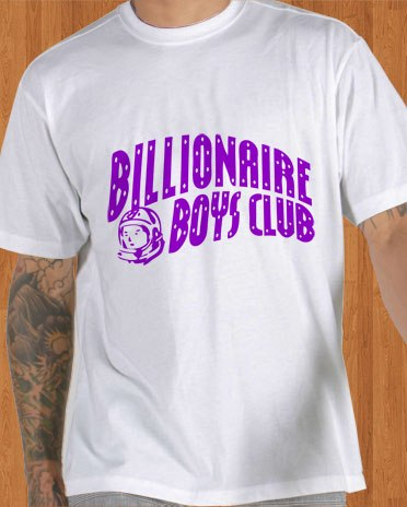 Billionaire Boys Club T-Shirt BBC Astronaut