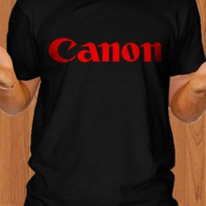 Canon T-Shirt Camera DSLR
