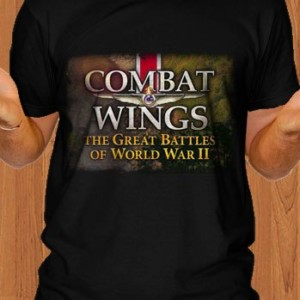 Combat Wings T-Shirt The Great Battles of WWII