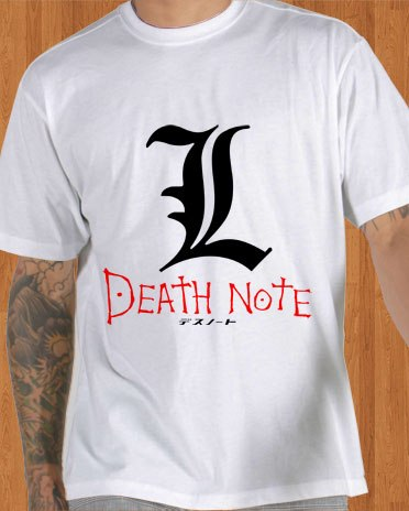 Death Note L T-Shirt White