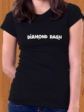 Diamond Dash T-Shirt Game Women