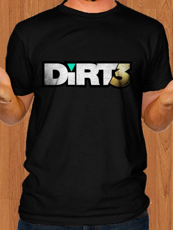 Dirt 3 T-Shirt Black