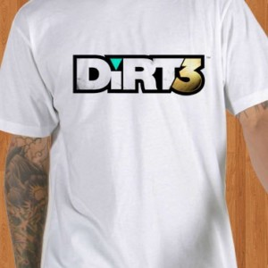 Dirt 3 T-Shirt White