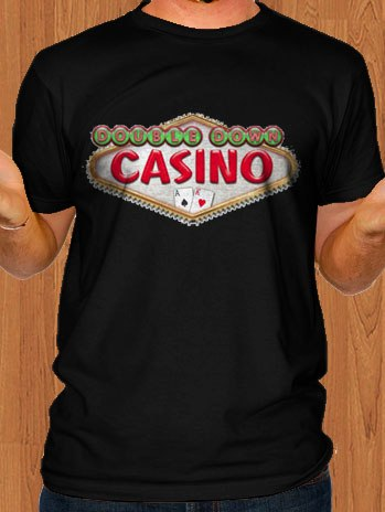 Double Down Casino T-Shirt Game Men