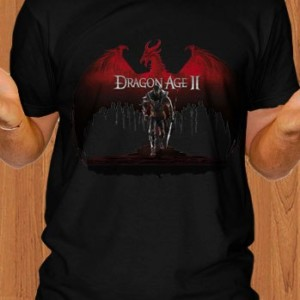 Dragon Age II T-Shirt RPG Black