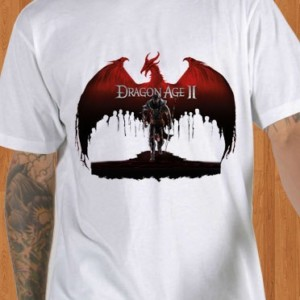 Dragon Age II T-Shirt RPG White