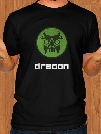 The Secret World T-Shirt Dragon