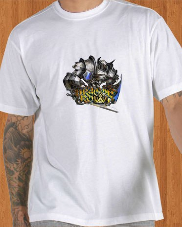 Dragons Crown T-Shirt Game White