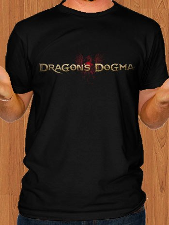 Dragons Dogma T-Shirt Game Black