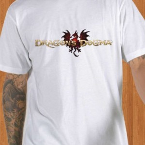 Dragons Dogma T-Shirt Game White