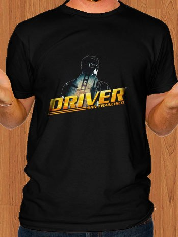 Driver San Francisco T-Shirt Black