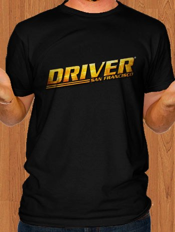 Driver San Francisco T-Shirt Logo Black