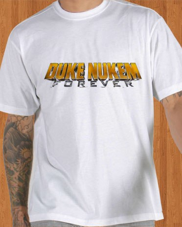 Duke Nukem Forever T-Shirt White