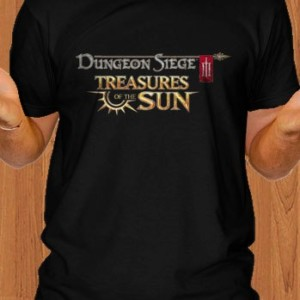 Dungeon Siege Game Black T-Shirt