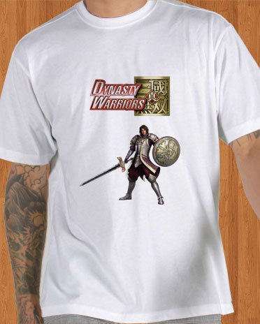 Dynasty Warriors 7 T-Shirt Xtreme Legends White