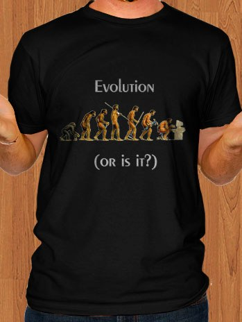 Evolution Of Men T-Shirt