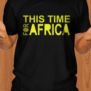 FIFA 2010 T-Shirt This Time For Africa