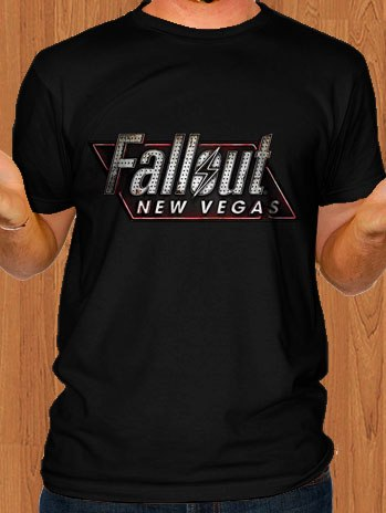 Fallout New Vegas T-Shirt Black