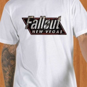 Fallout New Vegas T-Shirt White