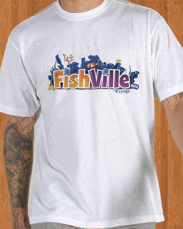 FishVille T-Shirt Game Men