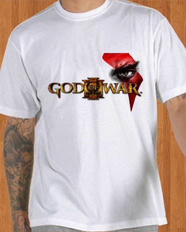 God of War III T-Shirt White