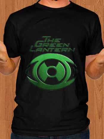 Green Lantern T-Shirt Black