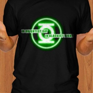 Green Lantern T-Shirt In Brightest Day in Blackest Night
