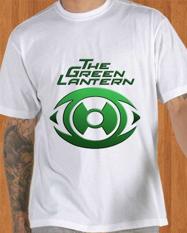 Green Lantern T-Shirt White