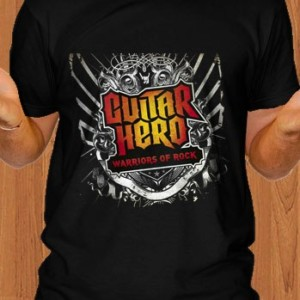 Guitar Hero T-Shirt Warriors of Rock