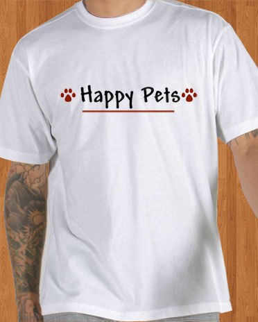 Happy Pets T-Shirt Game Men