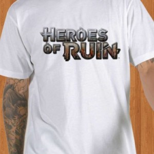Heroes Of Ruin T-Shirt Logo