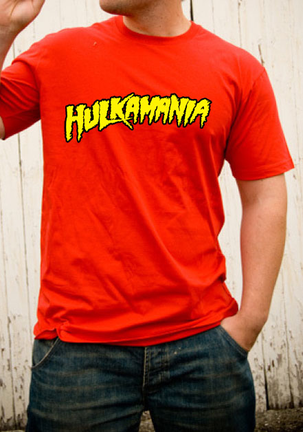 Hulkamania T-Shirt Hulk Hogan Red