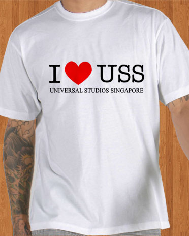 I Heart USS T-Shirt Men