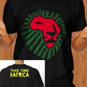 Lion Head T-Shirt This Time For Africa