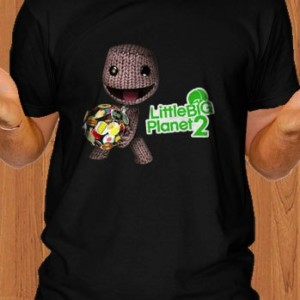 Little Big Planet 2 T-Shirt Black