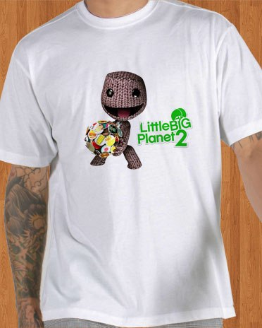 Little Big Planet 2 T-Shirt White
