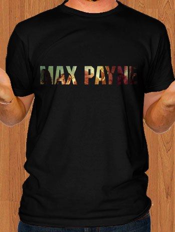 Max Payne T-Shirt Black