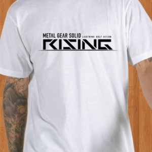 Metal Gear Solid T-Shirt Rising