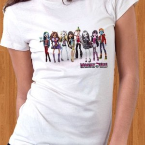 Monster High T-Shirt Dolls