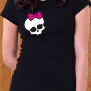 Monster High T-Shirt Right Chest Ghoulia Yelps