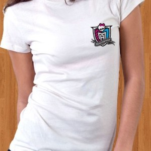Monster High T-Shirt School Badge Logo