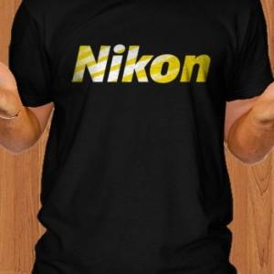 Nikon T-Shirt Camera DSLR