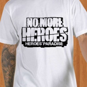 No More Heroes T-Shirt Heroes Paradise