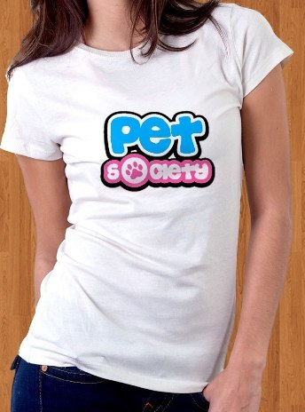Pet Society T-Shirt Game