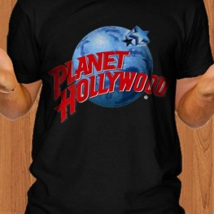 Planet Hollywood T-Shirt Black Men