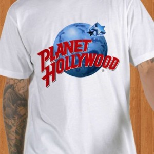 Planet Hollywood T-Shirt White Men